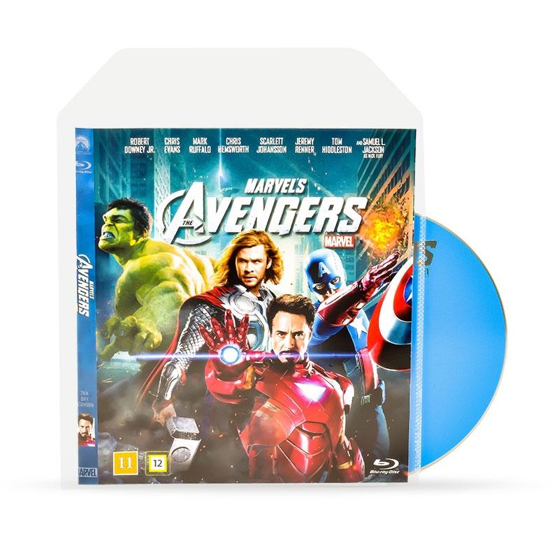 d710948baba Blu-Ray opberghoesjes met ruimte voor de omslag - 50 stuks