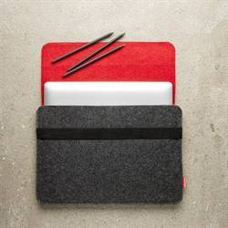 Laptoptas, rood