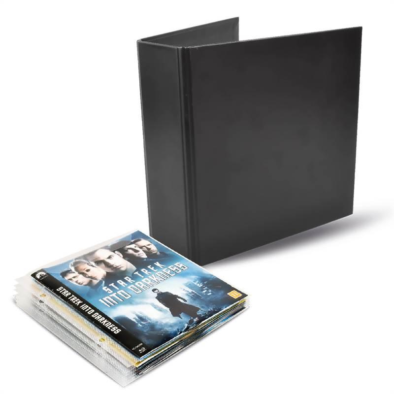 2e3b5738963 Blu-Ray-pakket - 50 Blu-Ray hoesjes, 2 ringbanden