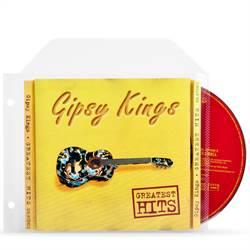 3c8df30ff1f CD hoesjes met ringbandgaten voor CD opbergen - 100 stuks